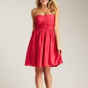 NWT Jessica Simpson Strapless Bright Rose Dress 12